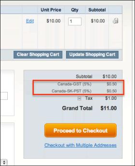 Налог с продаж в США