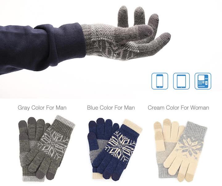 Где купить сенсорные перчатки Xiaomi