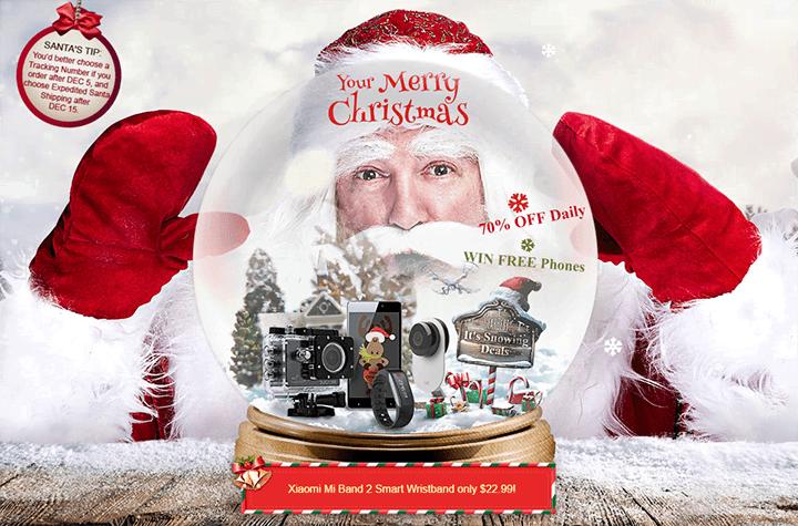 Новый Год и Рождество на GearBest