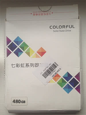 SSD диск Colorful SS500P на 480GB