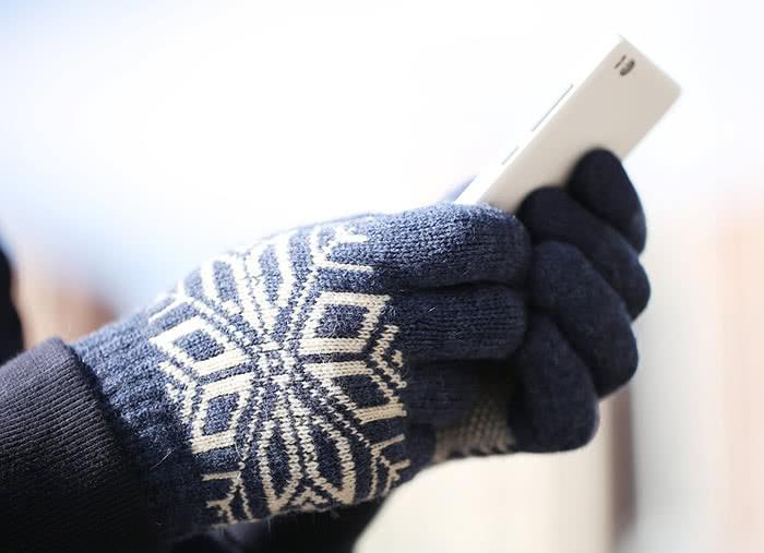 Зимние сенсорные перчатки от Xiaomi