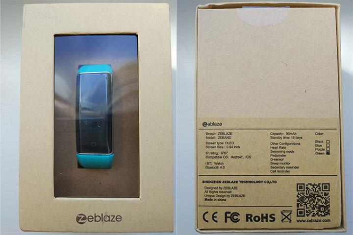 Обзор Zeblaze ZeBand BLE 4.0
