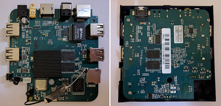Распаковка приставки H96 Pro Plus 3/32 GB