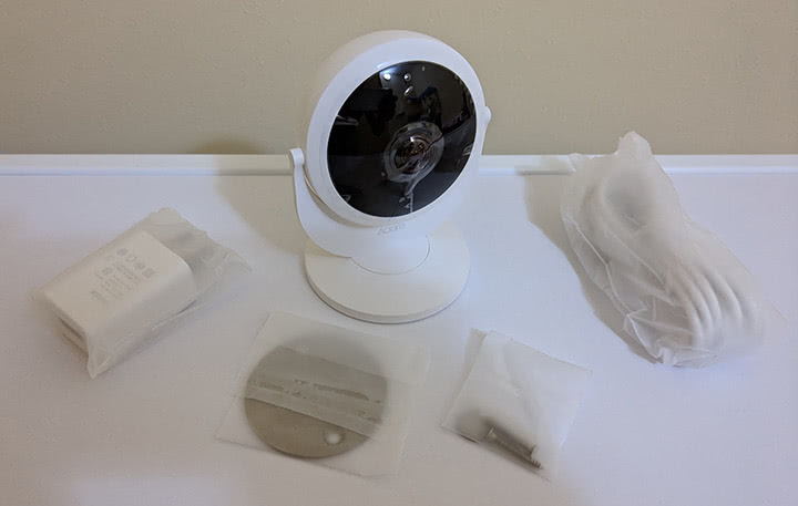 Настройка Aqara Smart IP Camera Linkage Alarm
