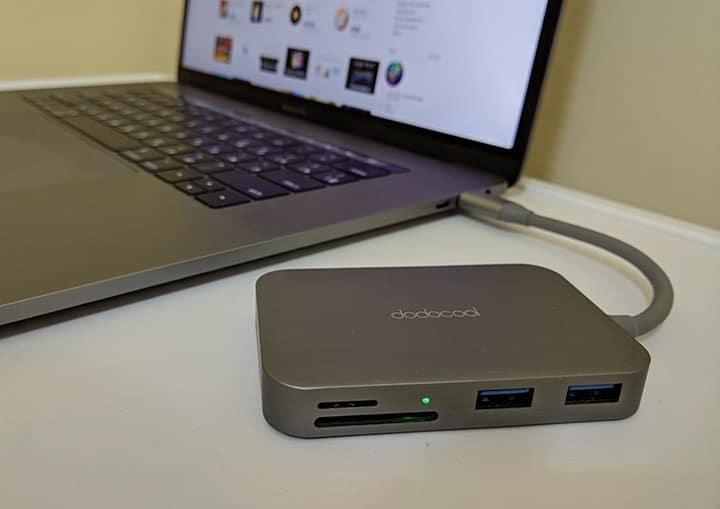 Отзыв Dodocool USB Type-C Hub