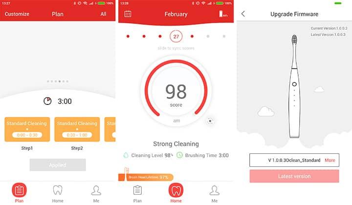 Мобильное приложение Oclean